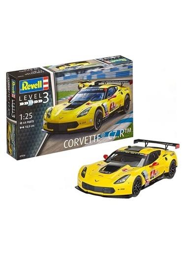 Revell  Maket Corvette C7R 07036 Renkli